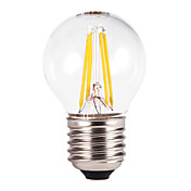 E26/E27 Bombillas LED de Globo G60 4 COB 350-550 lm Blanco Cálido AC 100-240 V 5 piezas