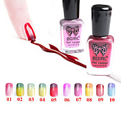cambio de temperatura / color degradado empapan-apagado el esmalte de uñas (11 ml, 1-10 # color disponible)
