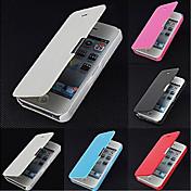 아이폰 5 / 5S에 대한 vormor®frosted 디자인 자기 버클 전신 케이스 (모듬 색상)