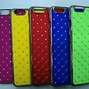 용 아이폰6케이스 / 아이폰6플러스 케이스 크리스탈 / 도금 / 패턴 케이스 뒷면 커버 케이스 기하학 패턴 하드 PC iPhone 6s Plus/6 Plus / iPhone 6s/6