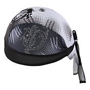 싸이클링 캡 모자 반다나 자전거 통기성 빠른 드라이 자외선 방지 안티 곤충 정전기 방지 박테리아 제한 초경량 패브릭 땀 흡수 기능성 소재 선크림 남녀 공용 그레이 100% 폴리에스터
