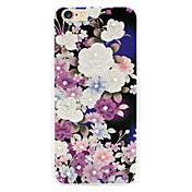 floración de las flores de Shell del teléfono del diamante relieves pintados aplican para 6plus | 6splus
