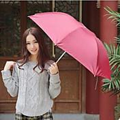 관광 색상 임의에게의 접는 우산 자외선 보호 우산