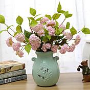 실크 수국 인공 꽃