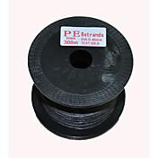 300M / 330 야드 PE 꼰 선 / Dyneema 50LB 0.4 mm 용 바다 낚시 플라이 피싱 베이트 캐스팅 스피닝 민물 낚시 잉어 낚시 일반적 낚시 건지러 & 보트 낚시