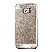 용 Samsung Galaxy S7 Edge 크리스탈 케이스 뒷면 커버 케이스 글리터 샤인 PC Samsung S7 edge / S7 / S6 edge / S6 / S5 / S4 / S3