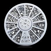 1wheel Mix Shapes Rhinestone Nail Art Decorations