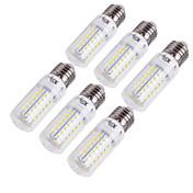 15W E14 / E26/E27 Bombillas LED de Mazorca T 56 SMD 5730 1350 lm Blanco Cálido / Blanco Fresco Decorativa AC 100-240 / AC 110-130 V6