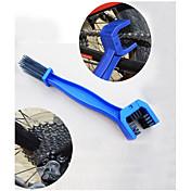 Bicycle Chain Brush Washing Device Mountain Bike Crankset Flywheel Cleaning(Ramdon Color)