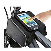 ROSWHEEL® 자전거 가방 1.8L자전거 프레임 백 방수 지퍼 / 방습 / 충격방지 / 착용할 수 있는 싸이클 가방 폴리에스터 / PVC / Terylene 싸이클 백 사이클링 17.5*10.5*9