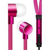 볼륨 조절 iphone6s / 6 / 5 / sumsungs7 / S6에 대한 (귀) 3.5mm의 중성 제품 이어폰