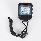 cronómetro electrónico temporizador PC90 tres filas 60 de memoria temporizador deportes movimiento cronómetro cronómetro cronómetro
