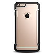 용 아이폰6케이스 / 아이폰6플러스 케이스 충격방지 케이스 뒷면 커버 케이스 단색 하드 PC Apple iPhone 6s Plus/6 Plus / iPhone 6s/6