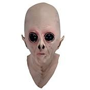할로윈 파티 장난감에 대한 무서운 실리콘 얼굴 마스크 외계인 UFO가 외계 파티 등 공포 고무 라텍스 전체 마스크
