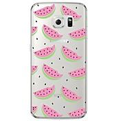 watermelon TPU Soft  Ultra-thin Soft Back Cove for Samsung Galaxy S7 edge / S7 / S6 edge plus / S6 edge / S6 / S5/S4