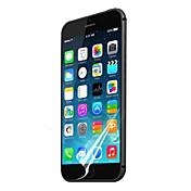 """[3 팩] 아이폰 6에 대한 깨끗한 천에 전문 투명도가 높은 LCD 맑은 스크린 프로텍터 (4.7 """")"""