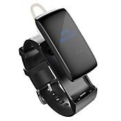 talkband banda de pulsera de reloj de Bluetooth Smart Sound calorías pulsera digital pista podómetro del monitor auricular de la aptitud