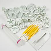 1 Set Of 46 Pcs Alta calidad / decoración de pasteles / Herramienta para hornear / Moda / De Armar Pastel / Galleta / Chocolate / Cupcake