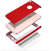 제품 iPhone 8 iPhone 8 Plus 케이스 커버 충격방지 Other 풀 바디 케이스 한 색상 하드 PC 용 Apple iPhone 8 Plus iPhone 8 아이폰 7 플러스 아이폰 (7) iPhone 6s Plus iPhone 6