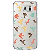 Tile Pattern Soft Ultra-thin TPU Back Cover For Samsung Galaxy S7 Edge S7 S6 Edge S6 Edge Plus S6 S5 S4