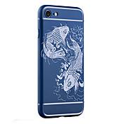 Para Antigolpes / Congelada / En Relieve / Diseños Funda Cubierta Trasera Funda Animal Suave TPU para AppleiPhone 7 Plus / iPhone 7 /