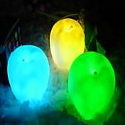 크리스마스 이브 밤 빛 임의의 색상에 시뮬레이션 사과 등 다채로운 플래시 색상 선물