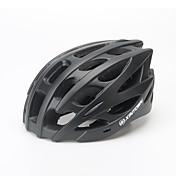 XINTOWN® 남여 공용 자전거 헬멧 28 통풍구 싸이클링 사이클링 / 산악 사이클링 / 도로 사이클링 / 레크리에이션 사이클링 / 스케이트 원 사이즈 PC / EPS 블랙