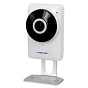 720p HD cámara de ojo de pez red p2p wifi ip 185 grados con seguridad en el hogar
