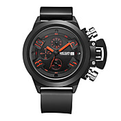 MEGIR® 2002 Men's Sport Watch Military Fashion Watch Quartz Digital Calendar Chronograph Water Proof Multifunction Wrist Watch