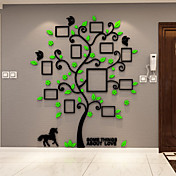 Botánico Pegatinas de pared Calcomanías 3D para Pared Calcomanías Decorativas de Pared,Vinilo Material Decoración hogareñaVinilos