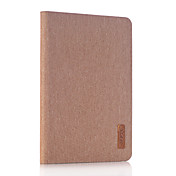 용 스탠드 케이스 풀 바디 케이스 단색 하드 인조 가죽 용 Apple iPad Mini 4 iPad Mini 3/2/1