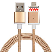 USB 2.0 짜임 마그네틱 케이블 제품 Samsung Huawei Sony Nokia HTC Motorola LG Lenovo Xiaomi cm 메탈 나일론