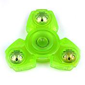 피젯 스피너 핸드 스피너 장난감 트라이 스피너 ABS EDC 스트레스와 불안 완화 오피스 데스크 완구 ADD, ADHD, 불안, 자폐증 완화 살생 시간 초점 장난감 야광의 하이 스피드 노블티&개그 장난감