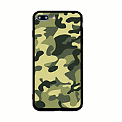 Para Diseños Funda Cubierta Trasera Funda Color Camuflaje Dura Acrílico para AppleiPhone 7 Plus iPhone 7 iPhone 6s Plus iPhone 6 Plus