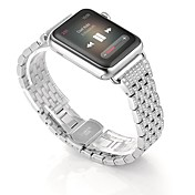 Alloy Crystal Rhinestone Diamond Watch Band Luxury Stainless Steel Bracelet Strap Watch Bands for Apple Watch Series 2 Series 1