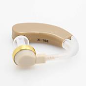 X-186 최고의 디지털 보청기 볼륨 조절 톤 귀 사운드 앰프 audiphone을 걸어