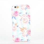 용 엠보싱 텍스쳐 패턴 케이스 뒷면 커버 케이스 꽃장식 하드 PC 용 Apple 아이폰 7 플러스 아이폰 (7) iPhone 6s Plus iPhone 6 Plus iPhone 6s 아이폰 6 iPhone SE/5s iPhone 5