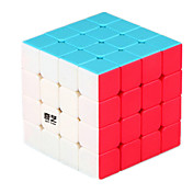 루빅스 큐브 부드러운 속도 큐브 부드러운 스티커 조정 봄 매직 큐브