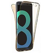 samsung galaxy s8 plus s8 케이스 커버 360도 모든 항목을 포함하는 분할 tpu 소재 소프트 케이스 휴대 전화 케이스 s7 edge s7 s6 edge s6 s5