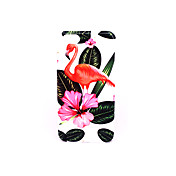 용 케이스 커버 반투명 엠보싱 텍스쳐 패턴 뒷면 커버 케이스 플라밍고 하드 PC 용 Apple아이폰 7 플러스 아이폰 (7) iPhone 6s Plus iPhone 6 Plus iPhone 6s 아이폰 6 iPhone SE/5s iPhone 5