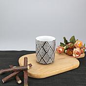 미니멀리즘 파티 드링크웨어, 175 ml 간단한 기하학적 패턴 재사용 가능 자기 차 누드 일상용 컵 티컵 머그컵