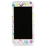 애플 아이폰 7 7plus 케이스 커버 패턴 전신 케이스 꽃 하드 PC 6s plus 6 plus 6s 6