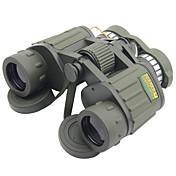 8X42mm mm 쌍안경 고해상도 일반적인 운반용 케이스 하이 파워 지붕 프리즘 밀리터리 스포팅 범위 소형 개고 일반적 사용 사냥 탐조(들새 관찰) 밀리터리 BAK4 멀티 코팅 140/1000 중심 초점 독립적 초점