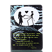 For Apple iPad Pro 9.7'' iPad 5 iPad 6 Case Cover Dancing Pattern Card Stent PU Material Flat Protection Shell