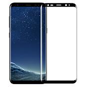 삼성 s8 고화질 휴대폰 화면 보호 강화 유리 필름의 전체 화면 범위