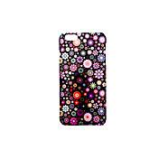 용 케이스 커버 반투명 엠보싱 텍스쳐 패턴 뒷면 커버 케이스 꽃장식 하드 PC 용 Apple아이폰 7 플러스 아이폰 (7) iPhone 6s Plus iPhone 6 Plus iPhone 6s 아이폰 6 iPhone SE/5s iPhone 5