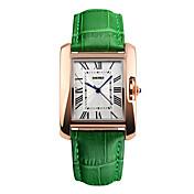 남성용 스포츠 시계 드레스 시계 패션 시계 손목 시계 독특한 창조적 인 시계 중국어 디지털 방수 천연 가죽 밴드 참 멋진 우아한 멀티컬러