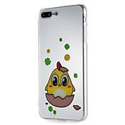 사과 iphone7에 대 한 경우 6 플러스 6 플러스 6s 6 7plus 소프트 tpu 만화 패턴