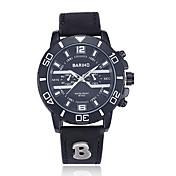 jewelora Hombre Reloj Deportivo Reloj de Moda Reloj de Pulsera Chino Cuarzo Resistente al Agua Resistente a los Golpes Punk Esfera Grande