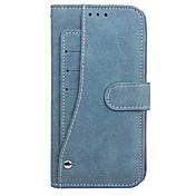 케이스 삼성 갤럭시 s8 플러스 s7 엣지 케이스 커버 카드 지갑 지갑 플립 풀 바디 케이스 단색 하드 PU 가죽 삼성 갤럭시 s7 s8 용